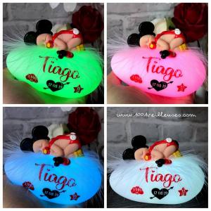 Bebe mickey couleurs du galet lumineux